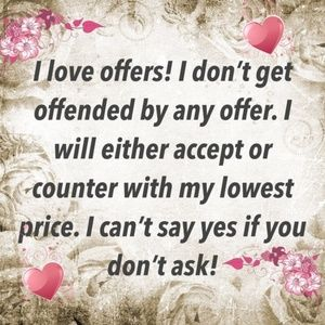 I ❤❤❤ offers!